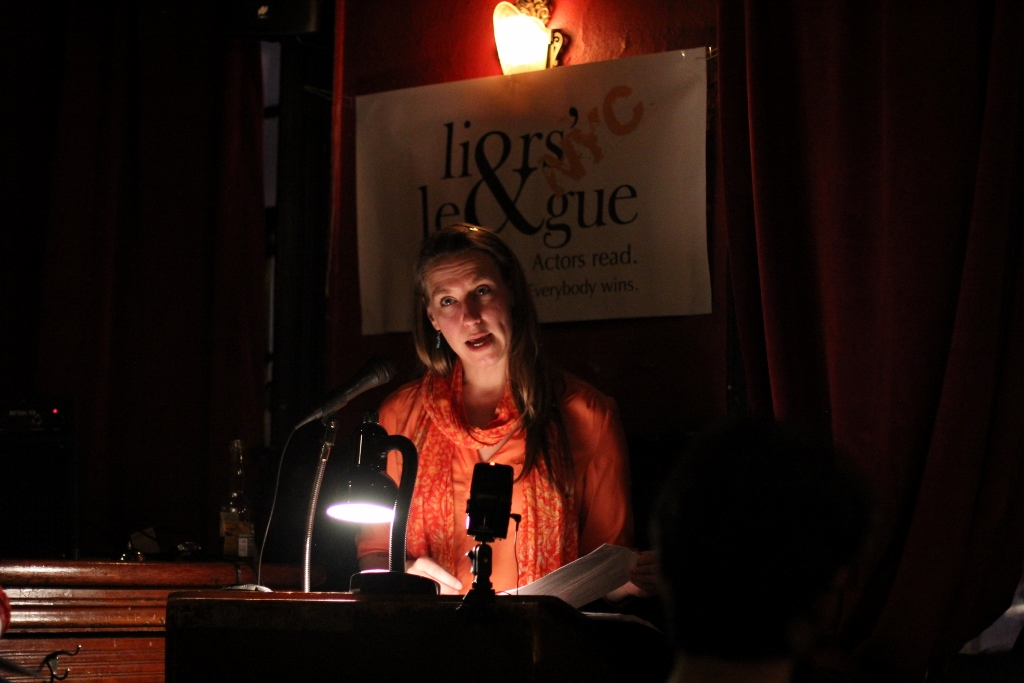 Alexandra Gray reading Olga Zilberbourg's  A Design Flaw