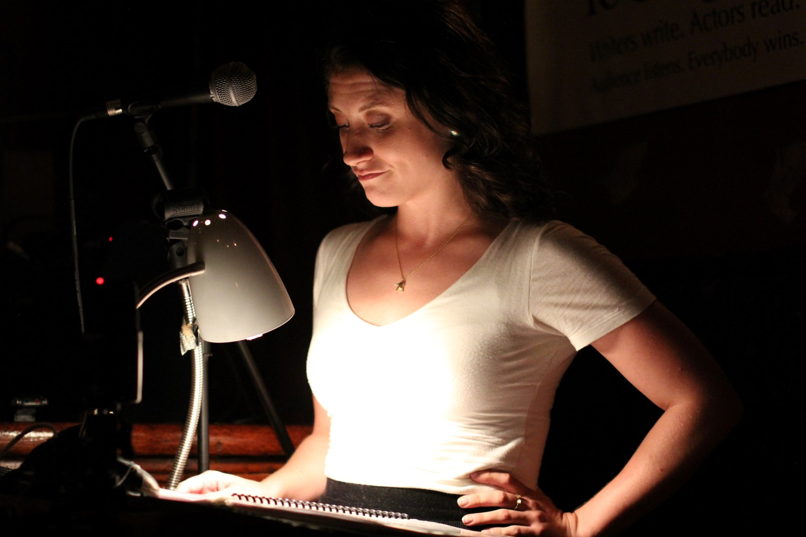 Hannah Seusy reading Last Stand