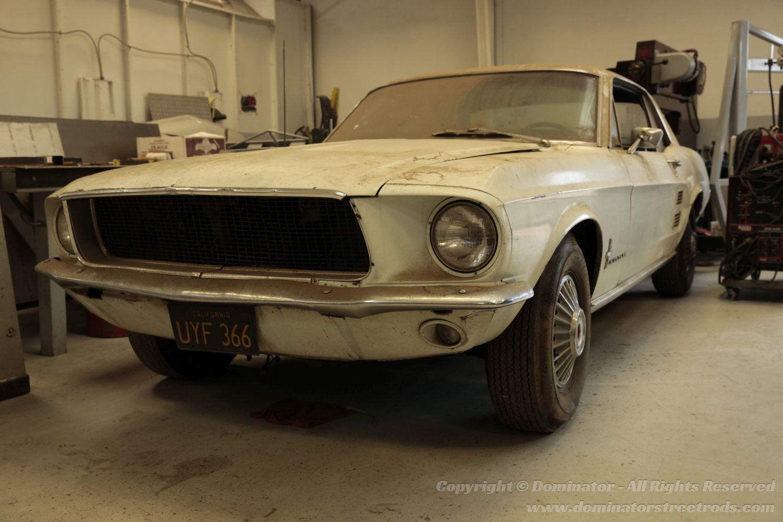 66 Mustang Fastback