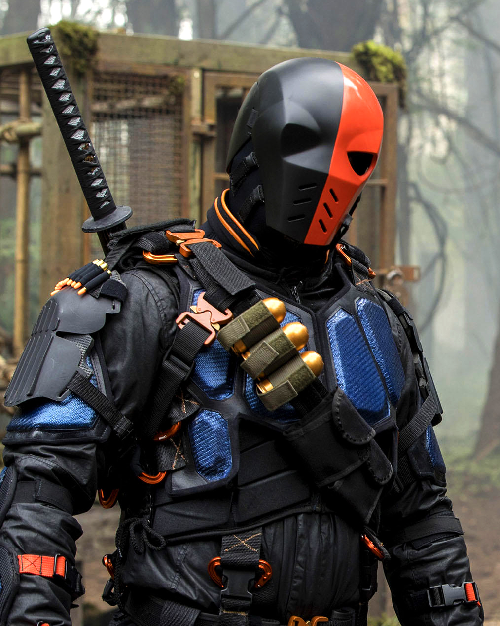 Deathstroke Helmet - Costume by Aaron Harrison