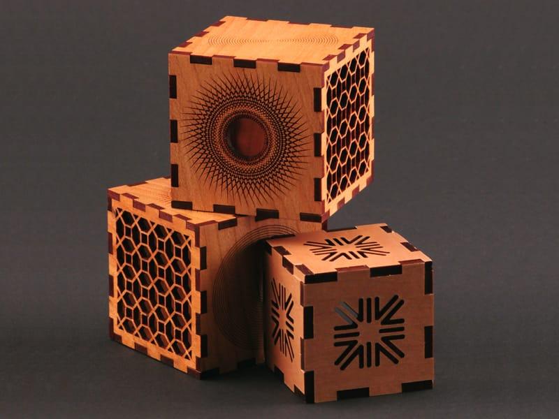 Laser Cut & Etched Wood