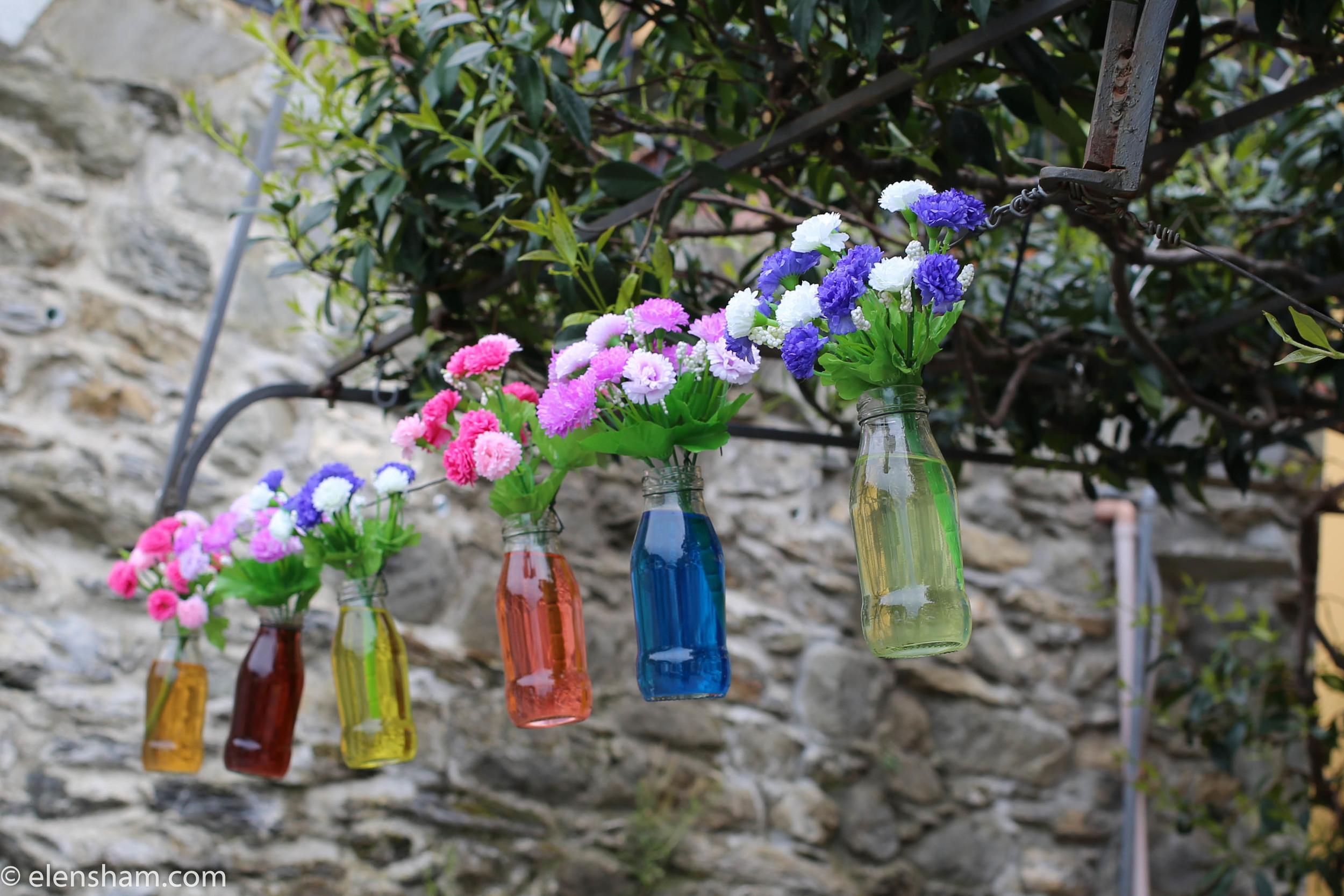 Restaurant decoration in Corniglia