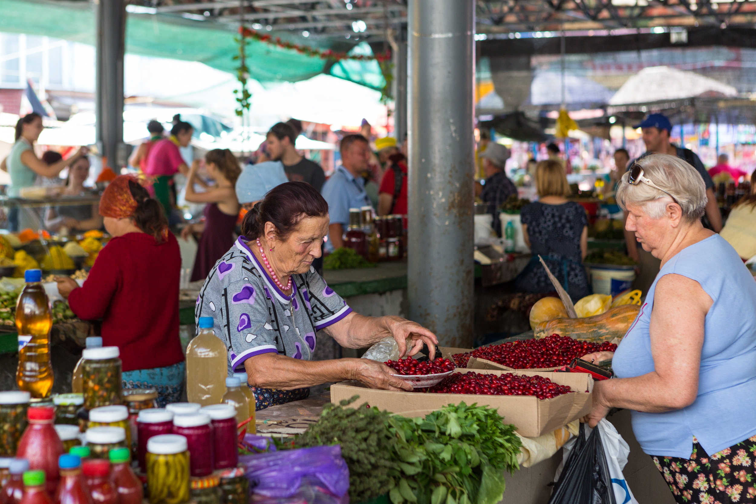 Chisinau market