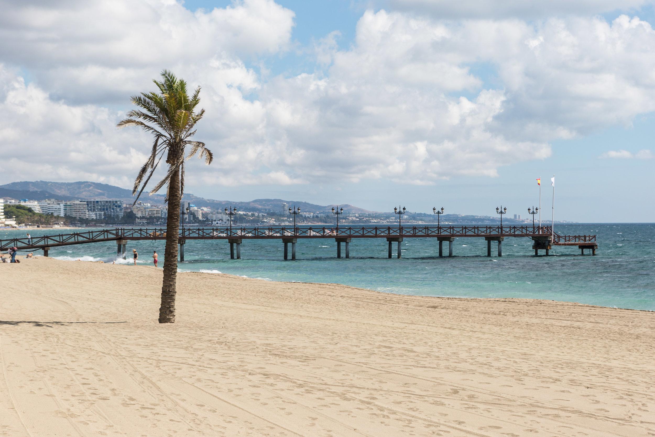 Marbella beach