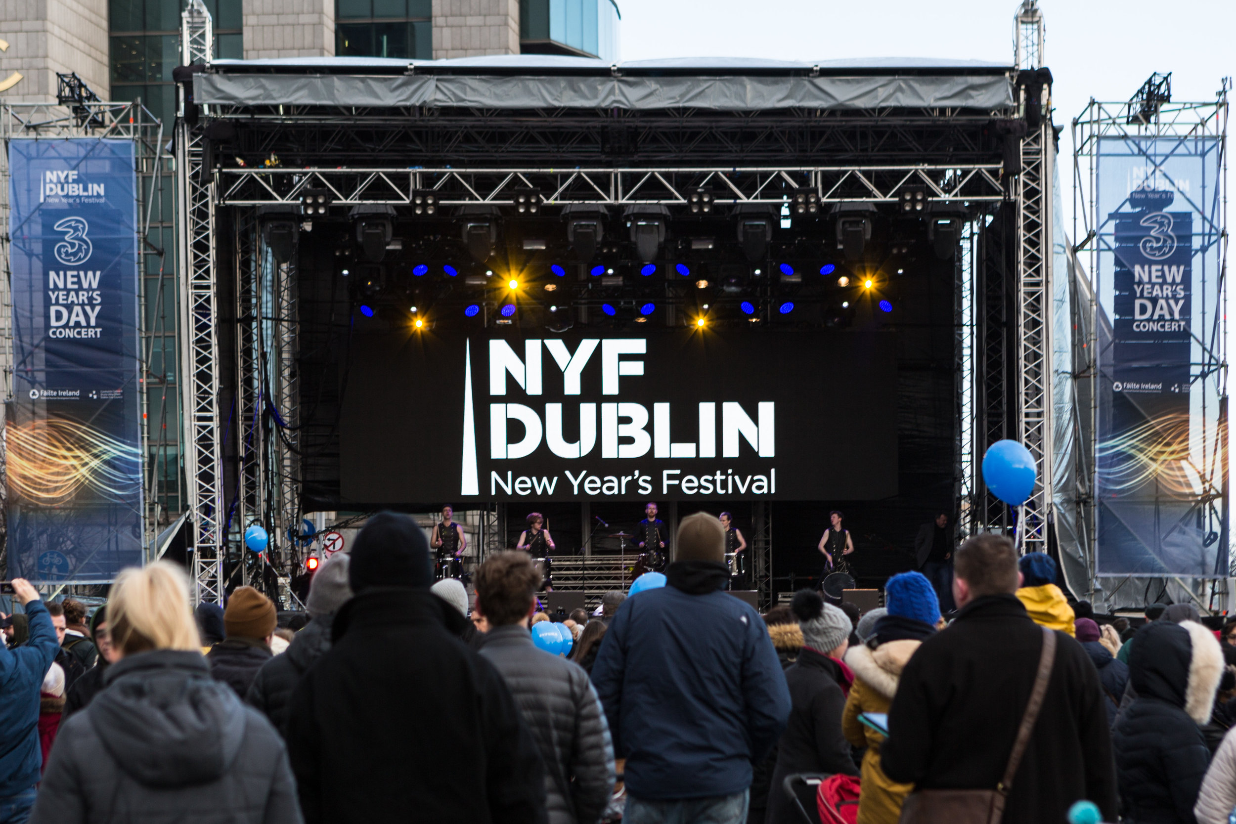 New Year Festival Dublin