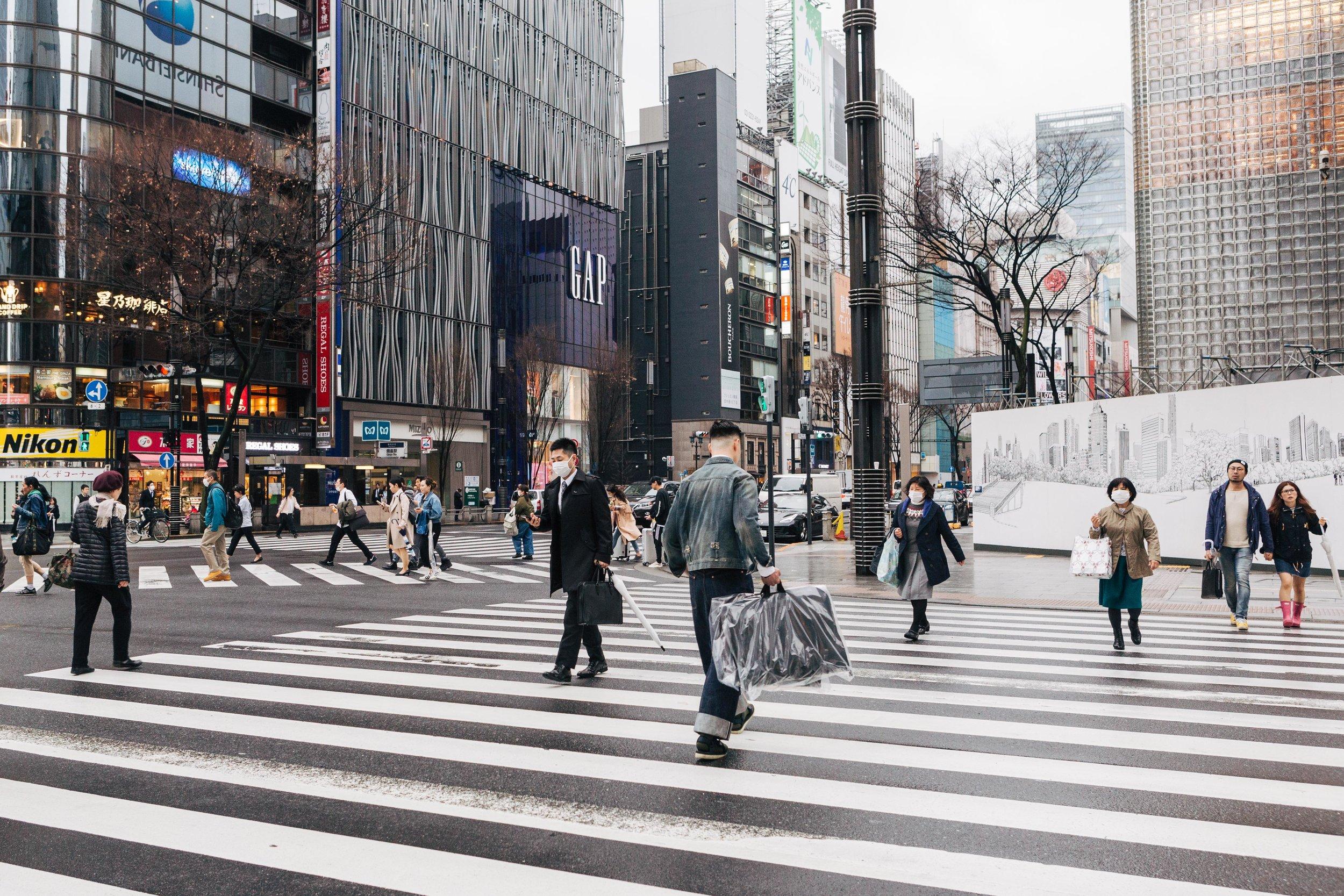 Tokyo crossing