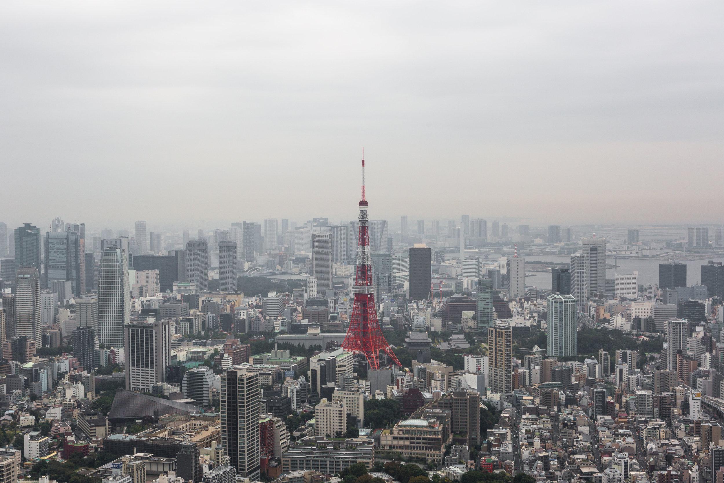 Tokyo Roppongi hills view