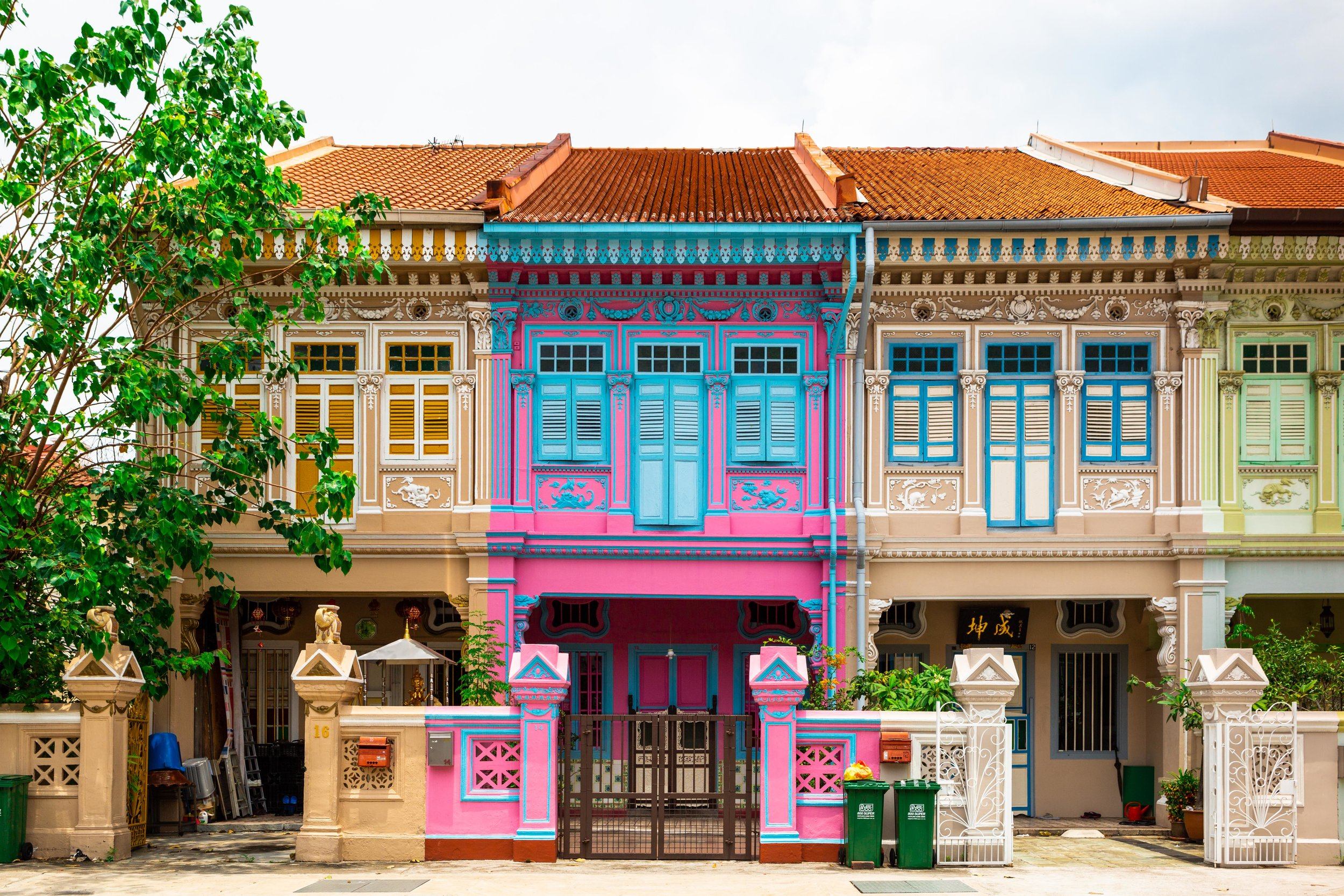 Singapore Peranakan houses