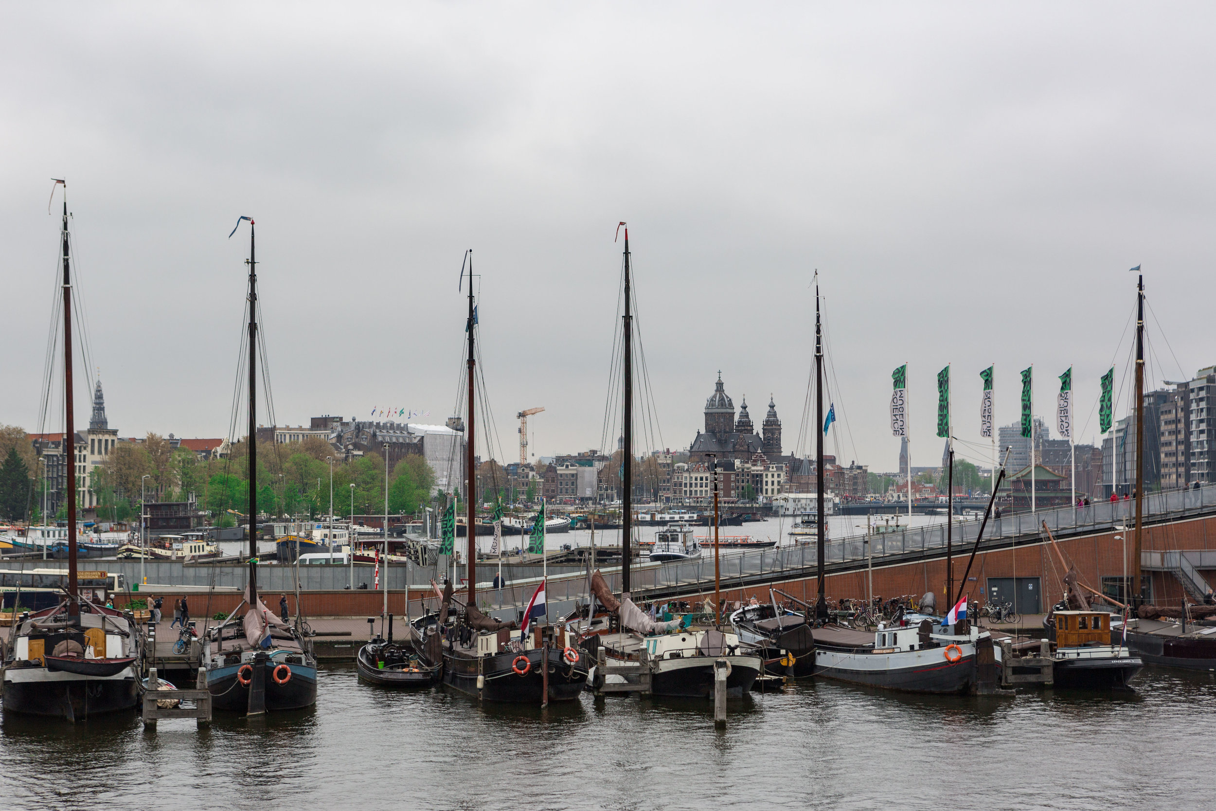 View from Amsterdam's Shipmuseum