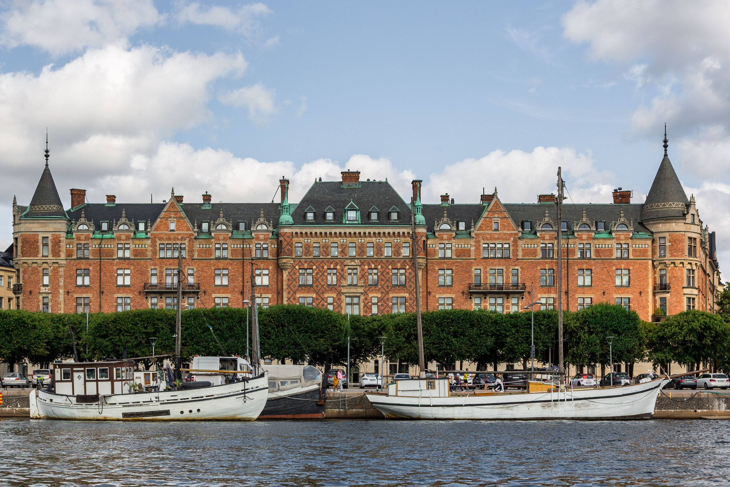 Stockholm by boat