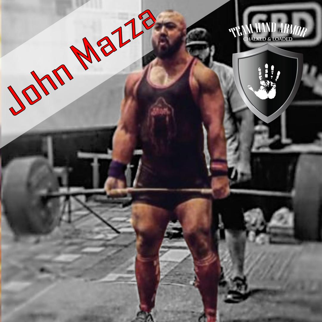 John Mazza Powerlifter