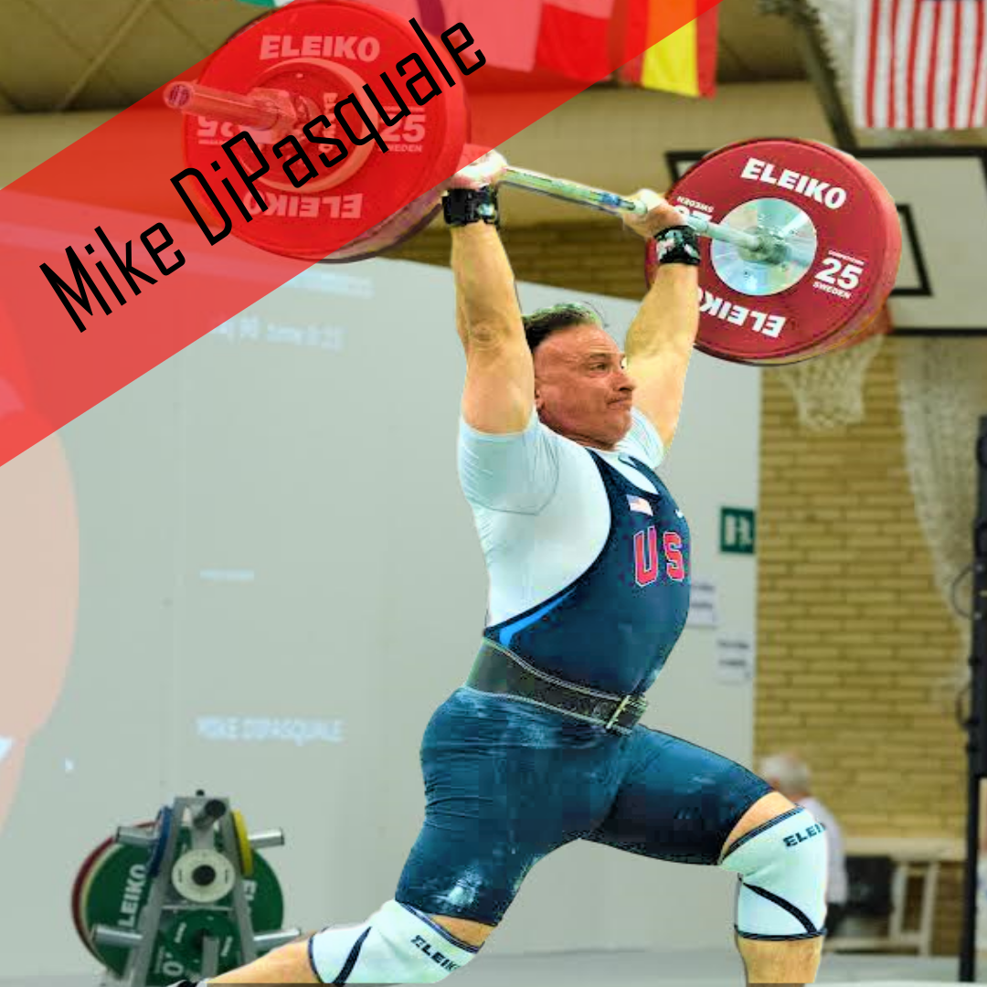 Mike DiPasquale Weightlifter