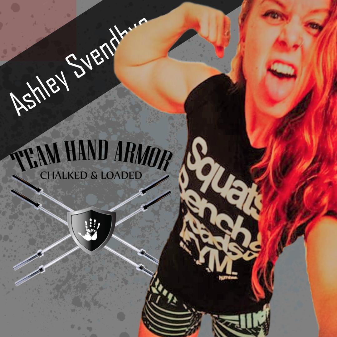 Ashley Svenbye Powerlifter