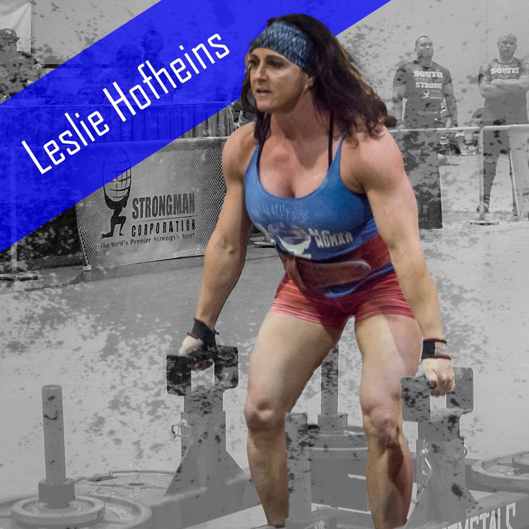 Leslie Hofheins Strongwoman