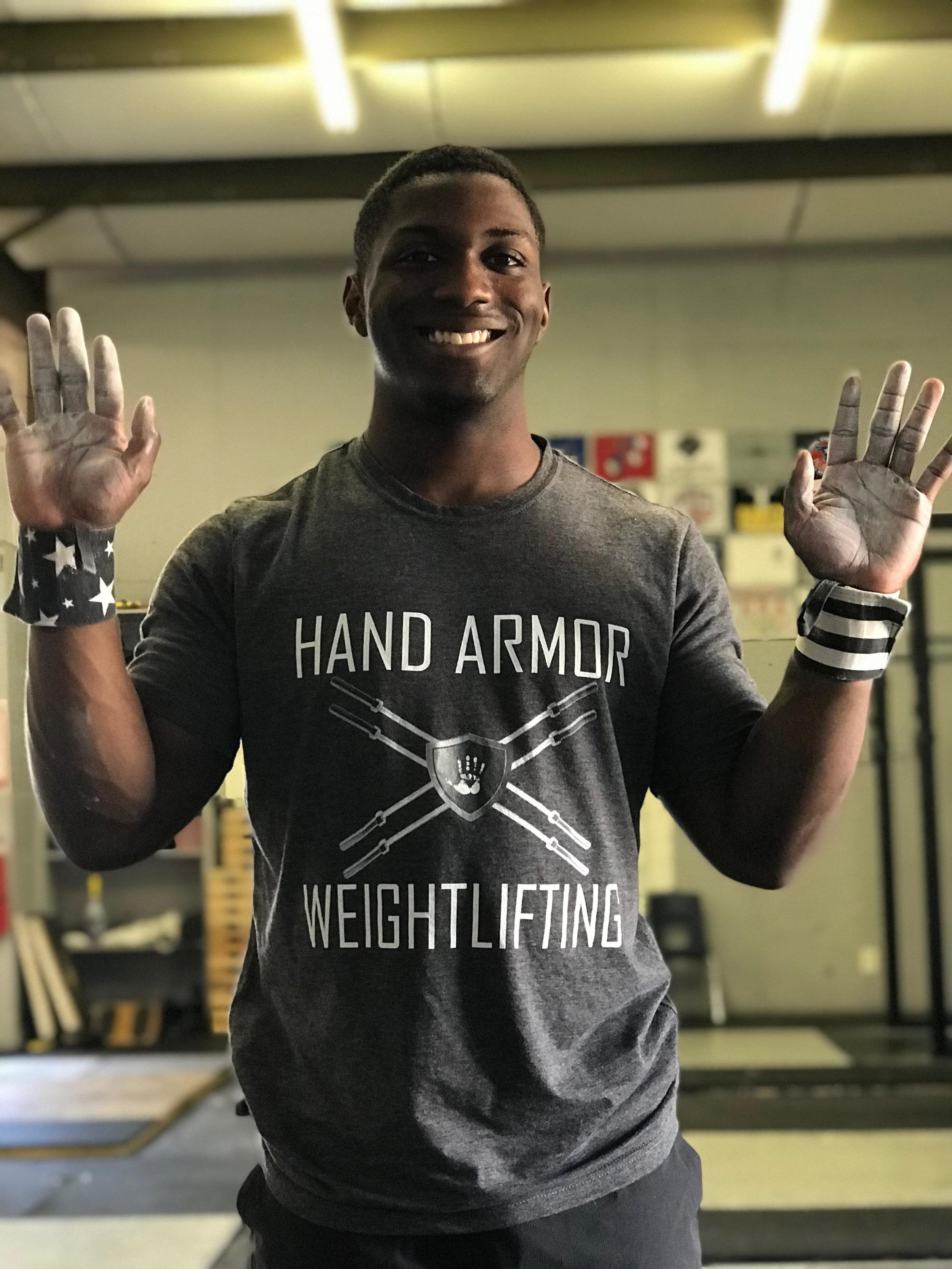 CJ Cummings Hand Armor Chalk Athlete