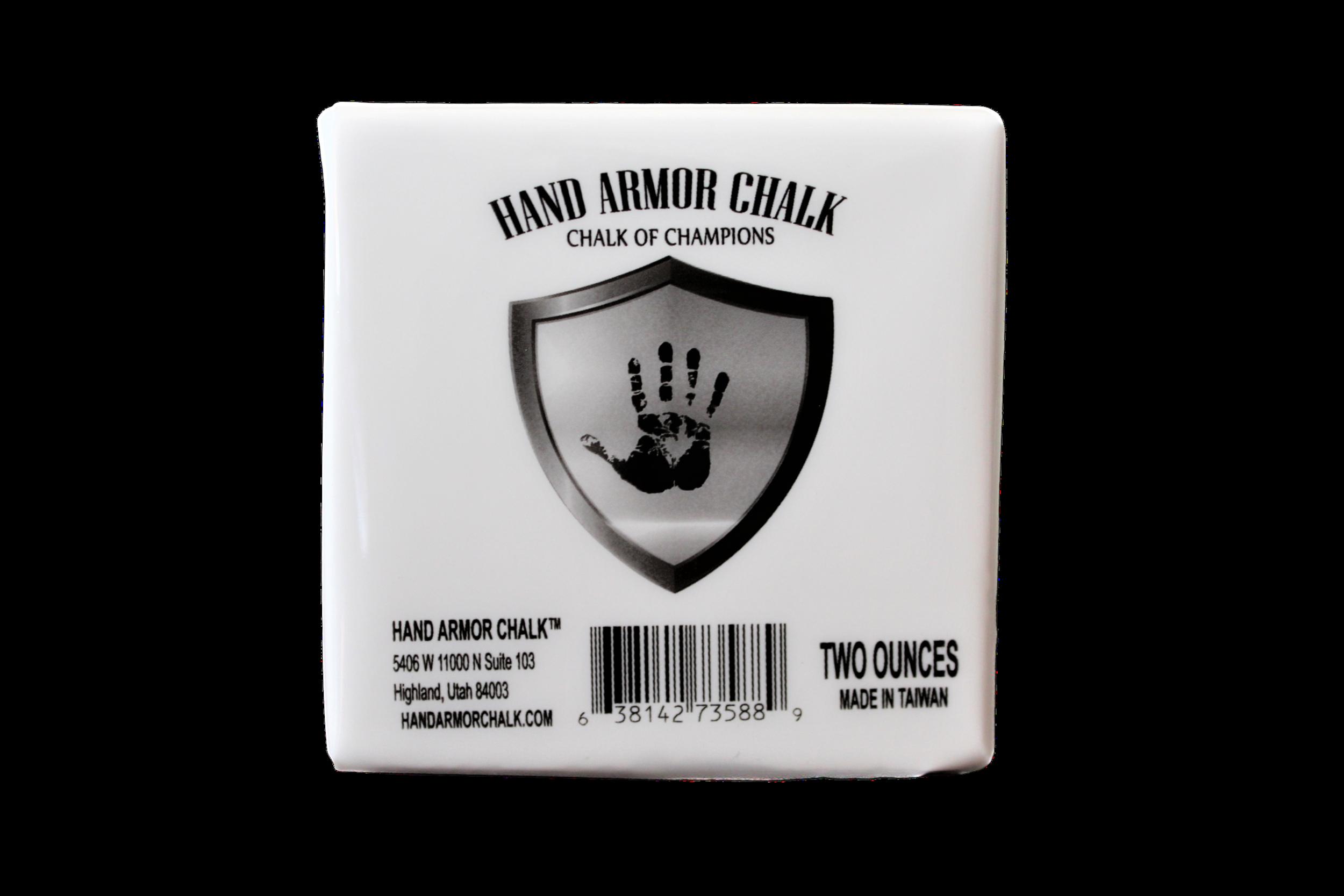 Hand Armor™ Block Chalk 2 oz