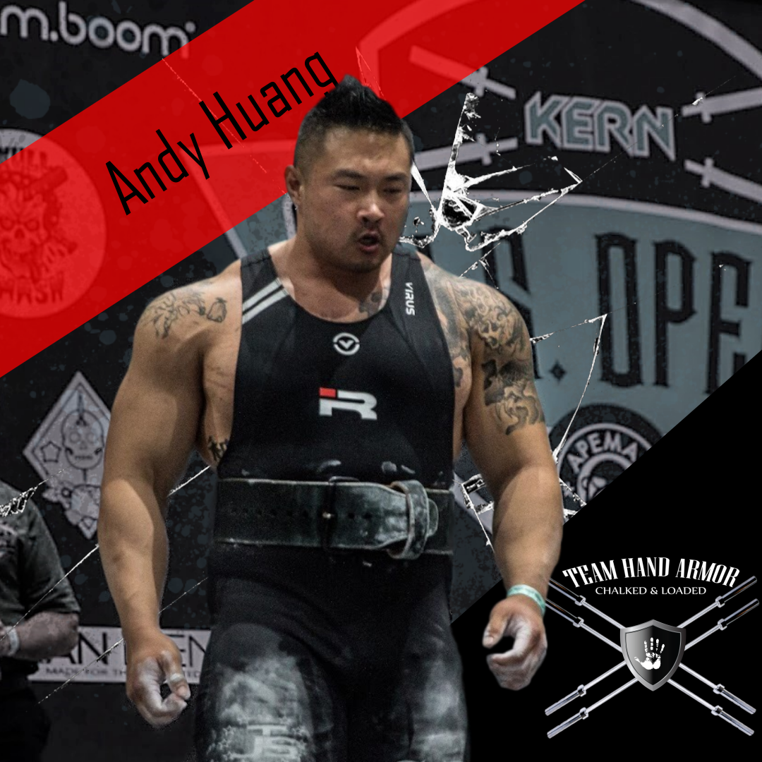 Andy Huang Powerlifter