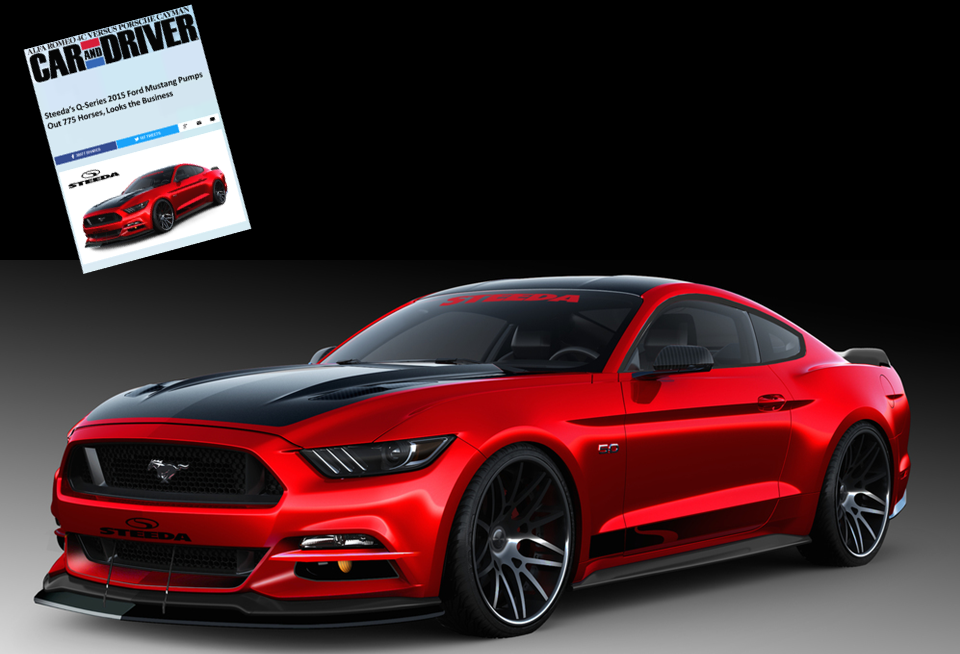 2015 Steeda Q750 StreetFighter Mustang - Featured in Car & Driver - Click Image to Learn More