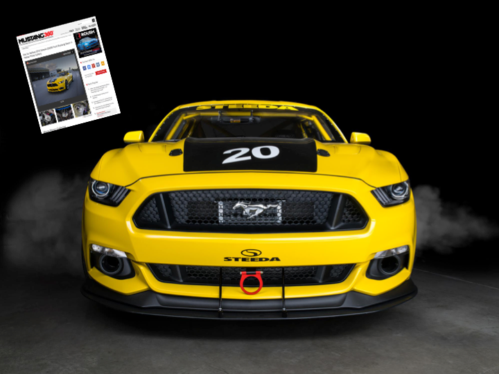 Steeda Race Car - Featured in Mustang 360
