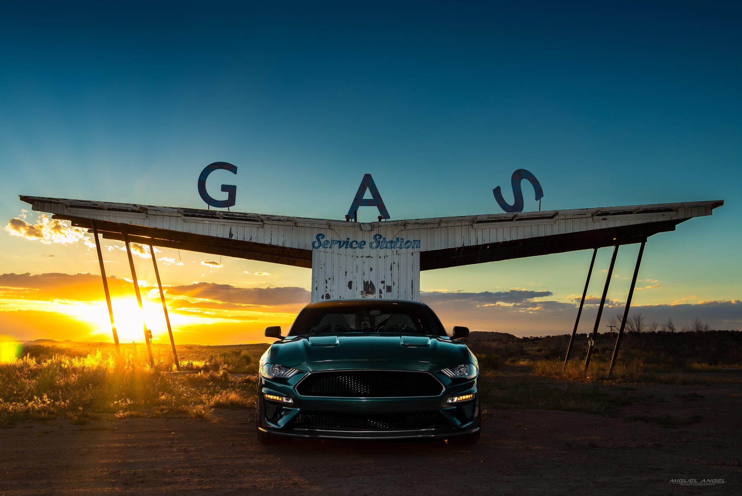 Steve McQueen Edition - Gas Station.JPG
