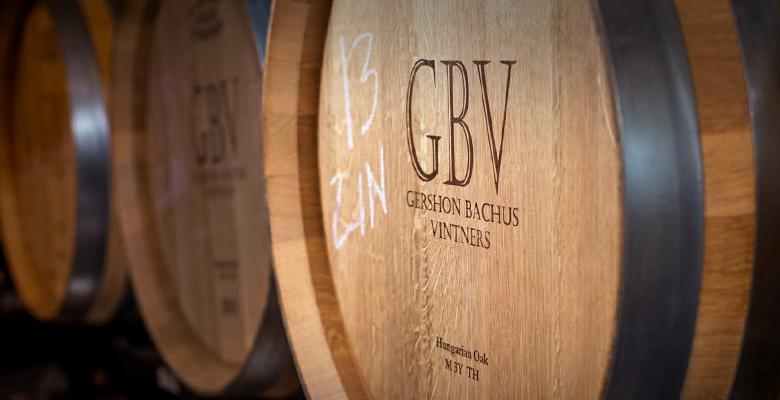 Zinfandel barrels aging in Hungarian Oak.