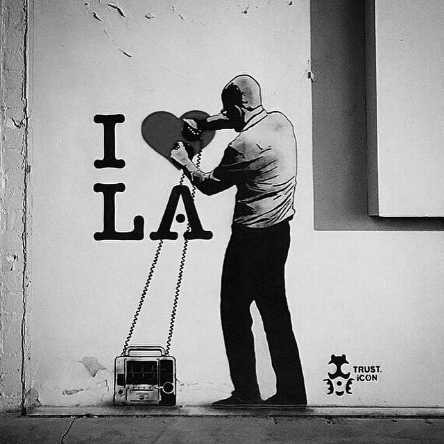 ⭐️#blacklisted #streetart #downtown #losangeles #love #la #inspiration #newyear #newbeginnings