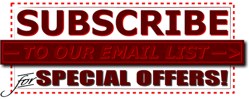 subscribe to our email list for special offers