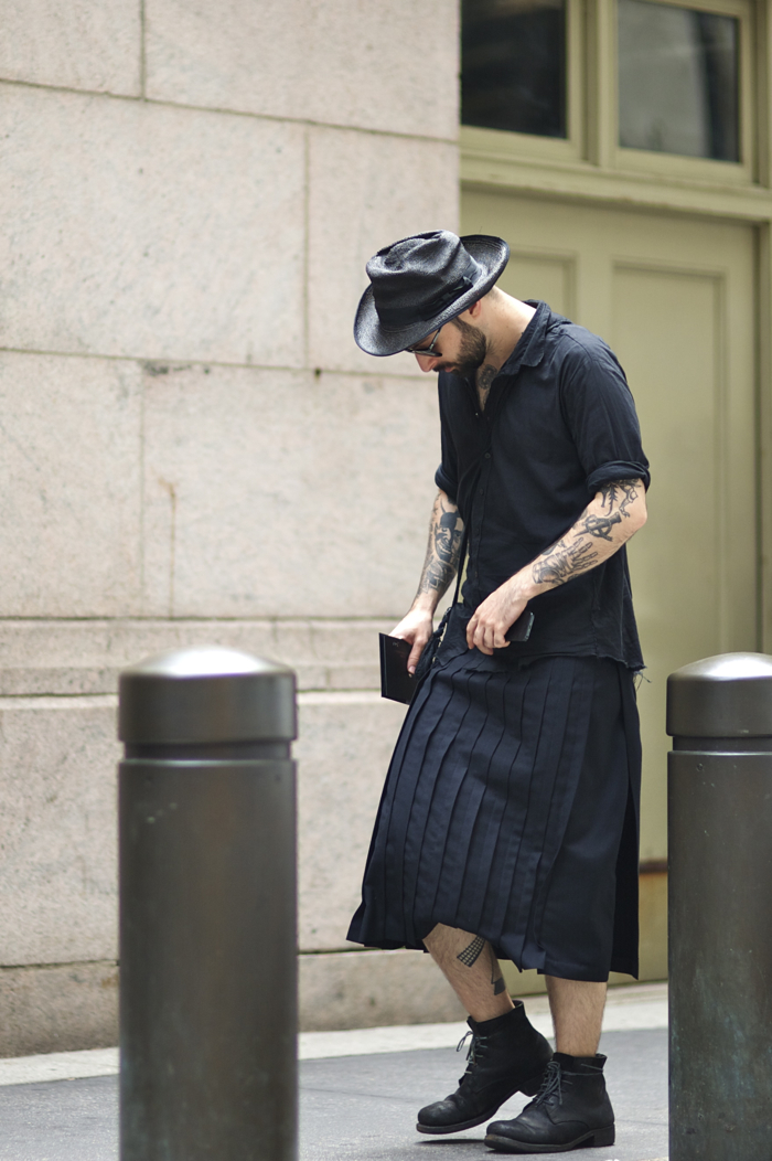 Mike Nouveau Paul Harnden Comme des Garcons Homme Plus, Augusta A1923 An Unknown Quantity New York Fashion Street Style Blog.jpg