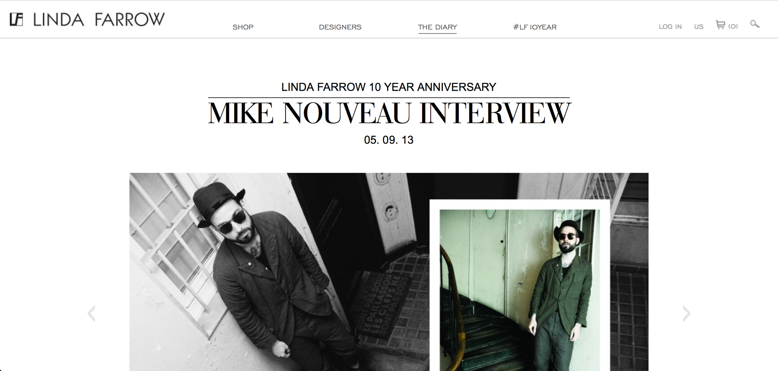 Linda Farrow Interview