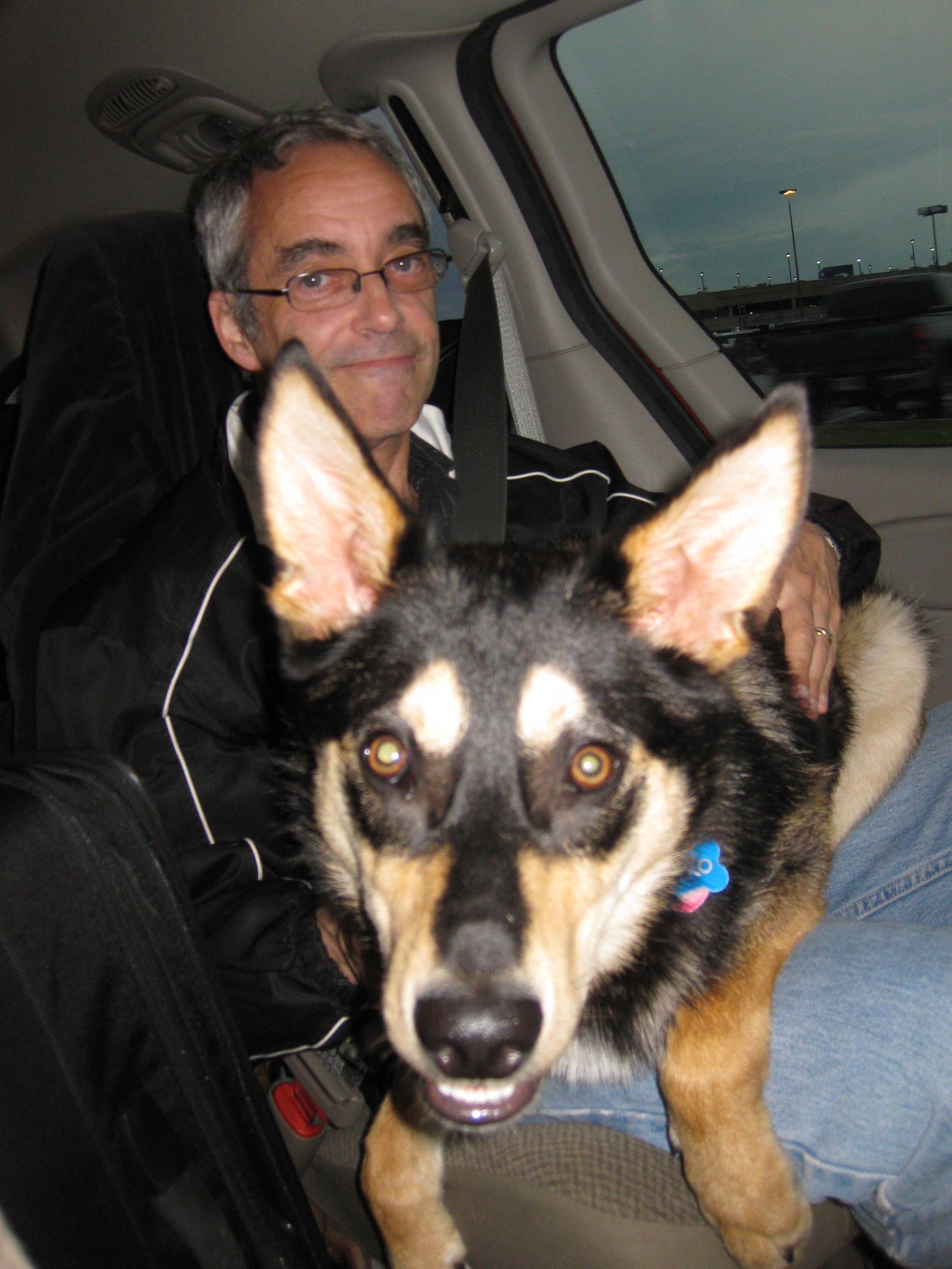 Nicko loves his Uncle Dan!