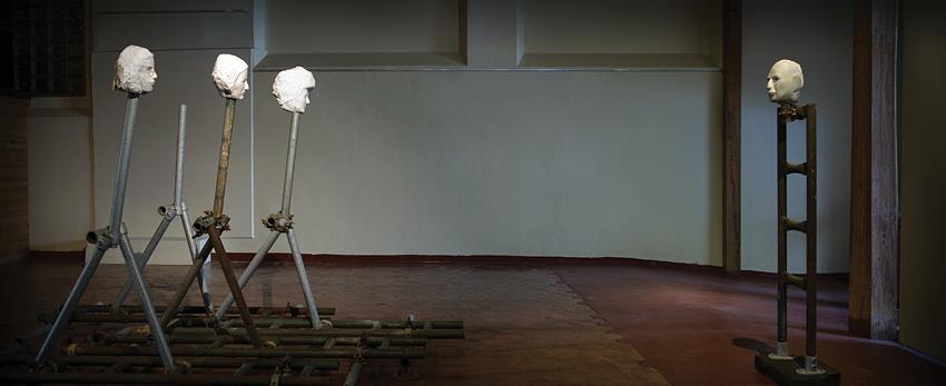 Clive Murray-white Walking Women-Standing Monash