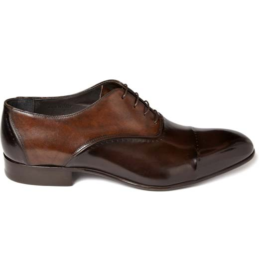 Lanvin Leather Oxfords