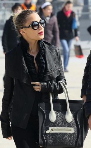 Nicole Richie Celine Luggage Tote