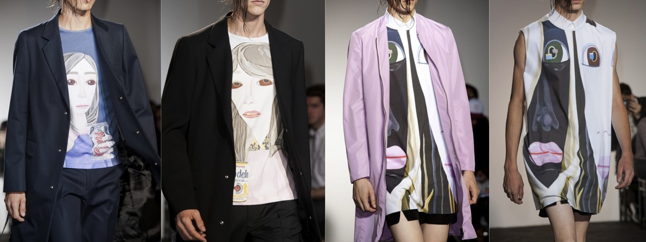 Raf Simons Spring Summer 2013 Menswear Highlights