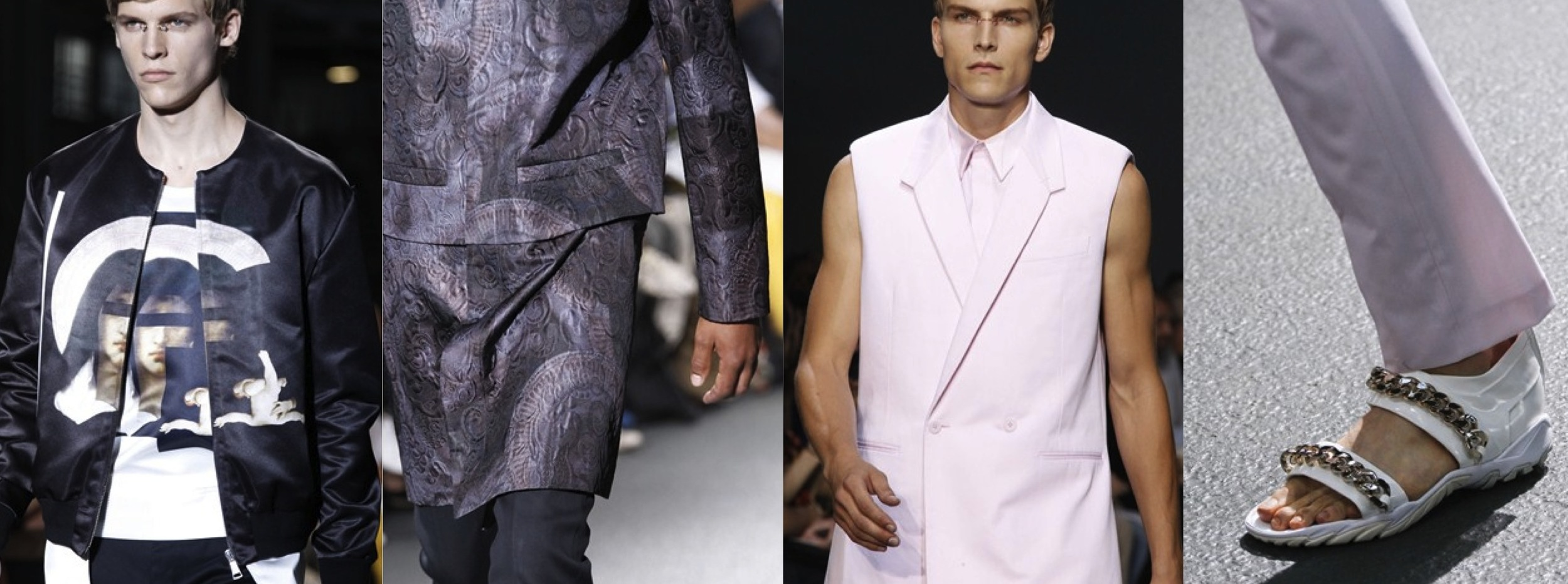 Givenchy SS2013 Menswear Collection Highlights
