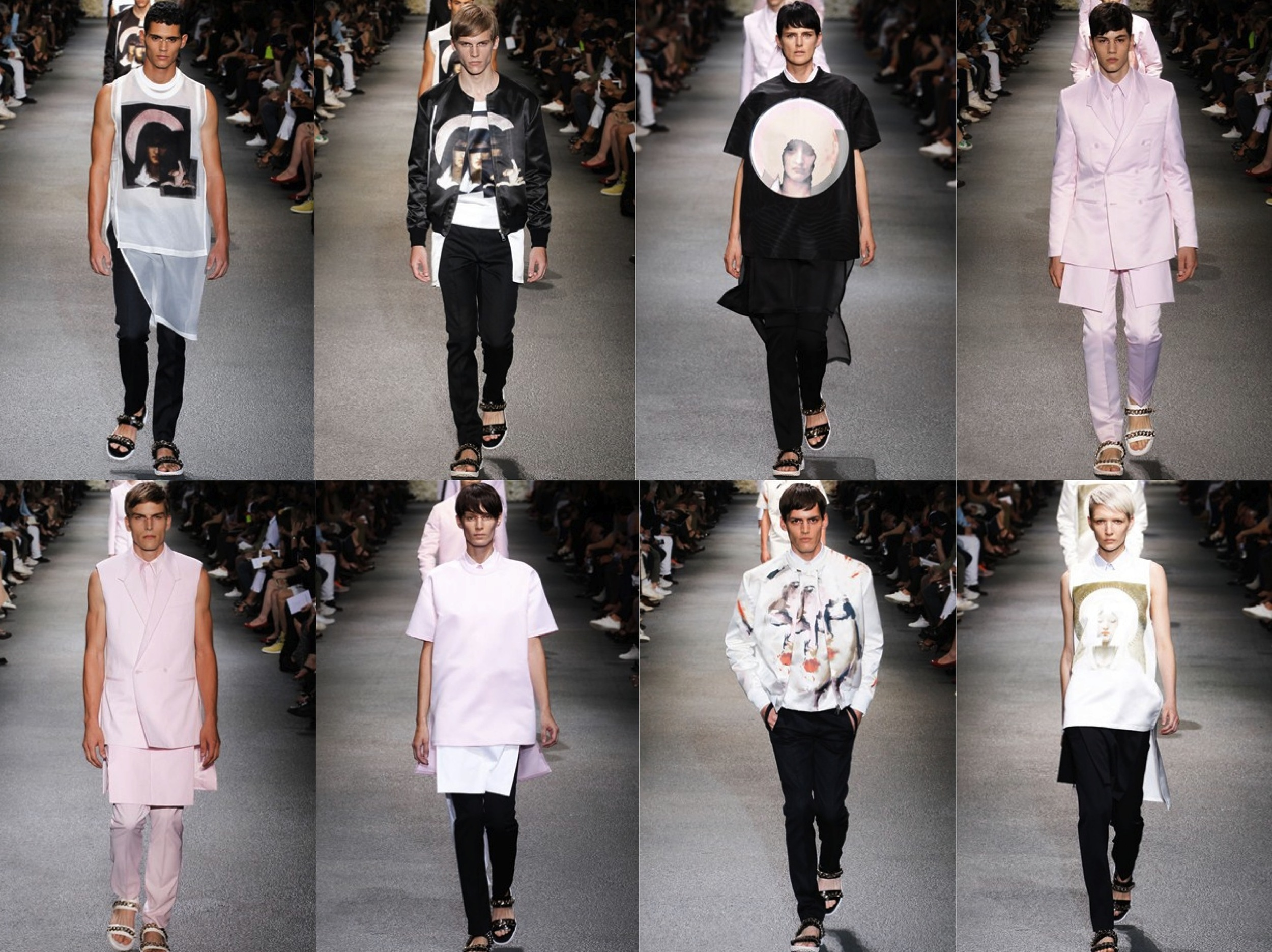 Givenchy SS2013 Menswear Collection