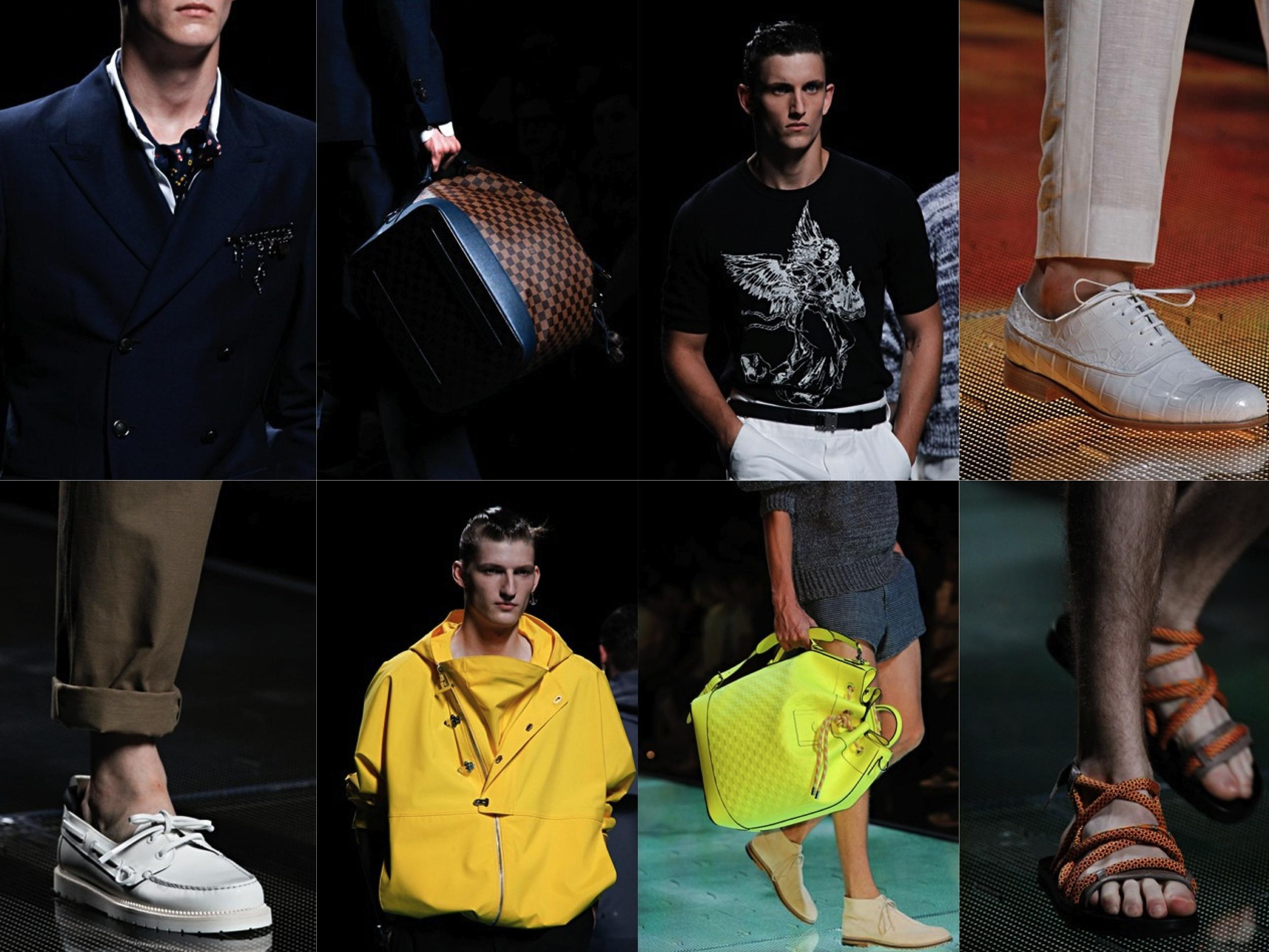 Louis Vuitton Spring Summer 2013 Menswear Highlights