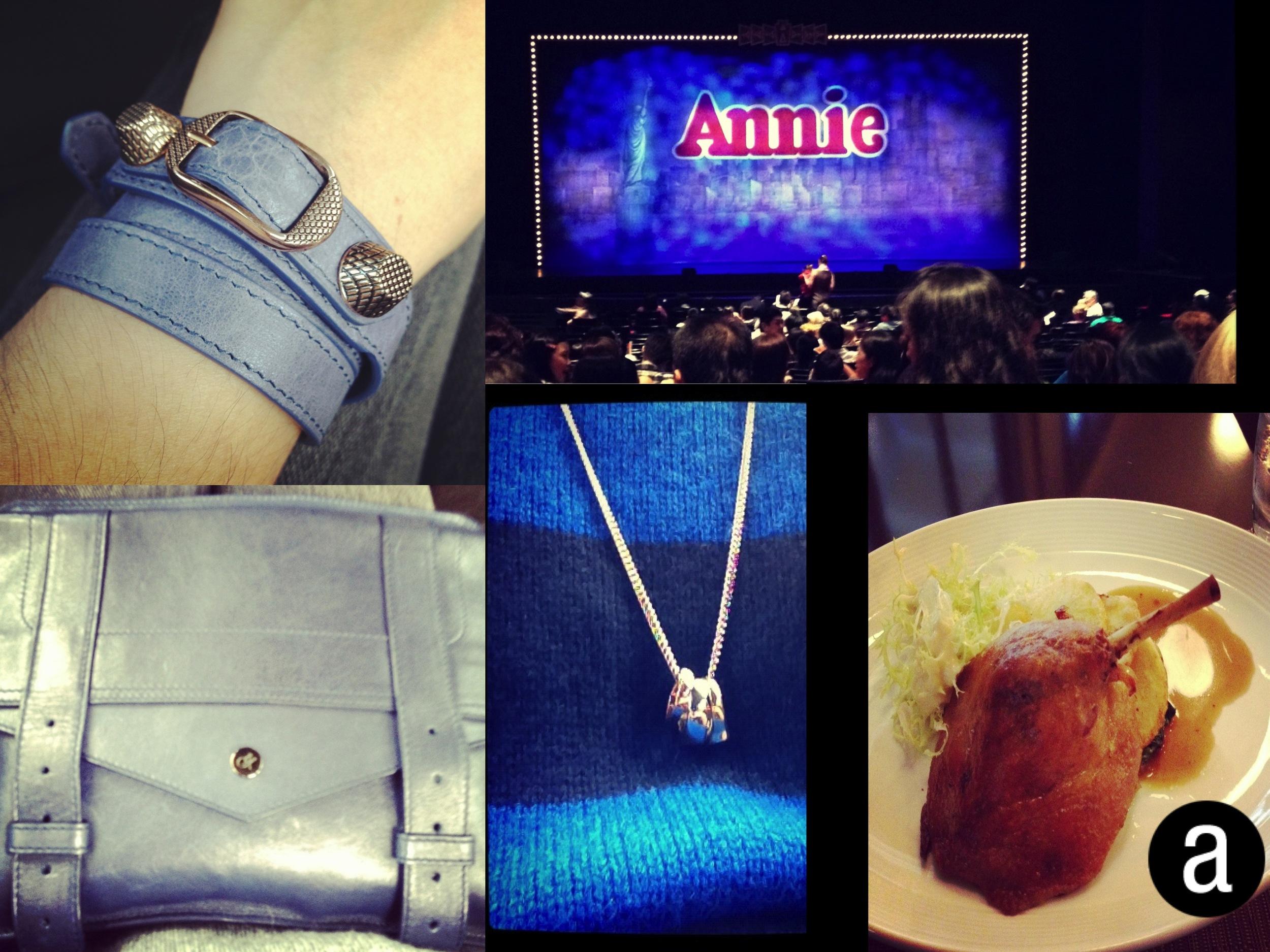 aMusing Photo Collage # 3 - Annie & Blue