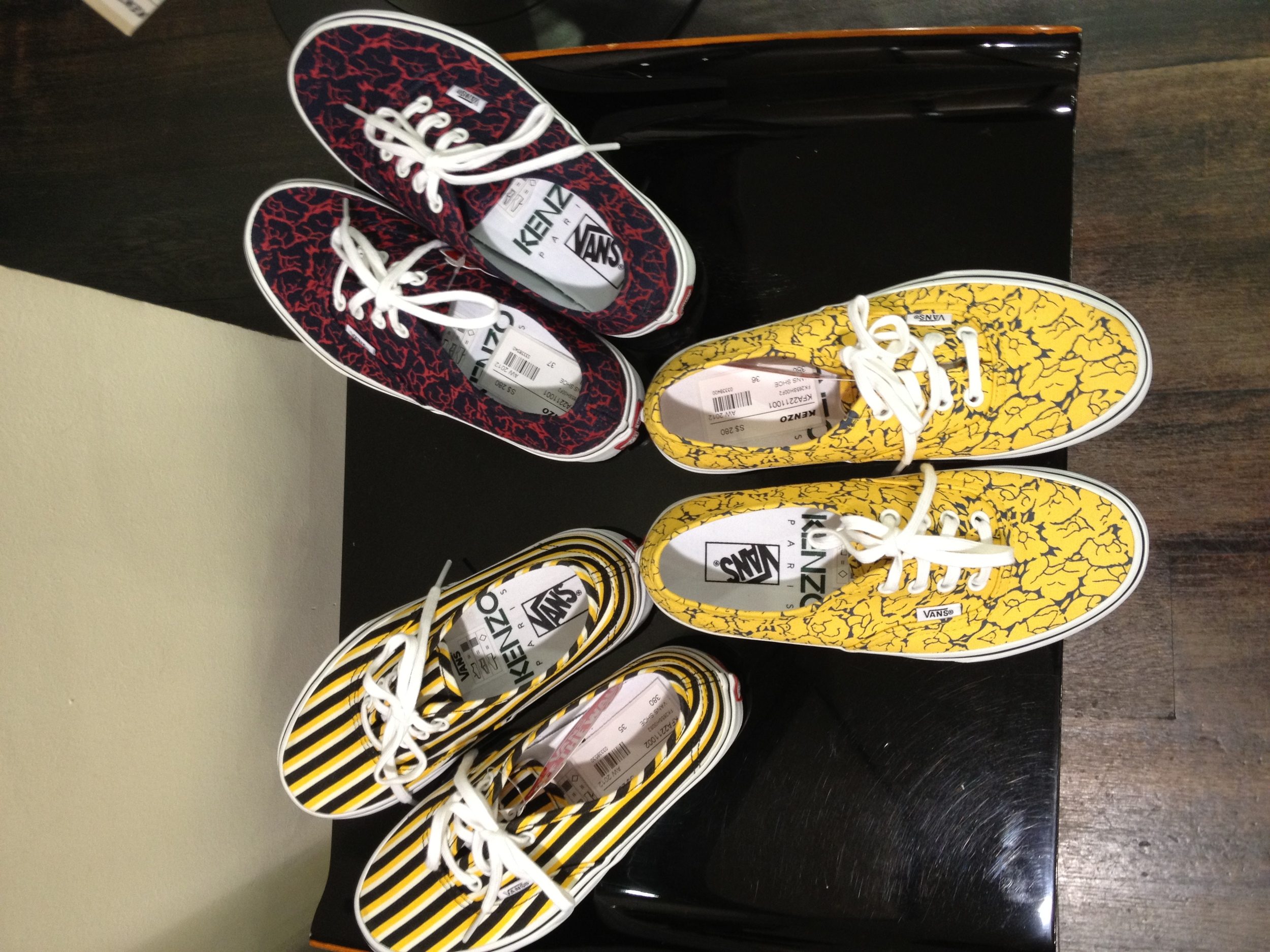 Vans by Kenzo Collection Ladies Shoes