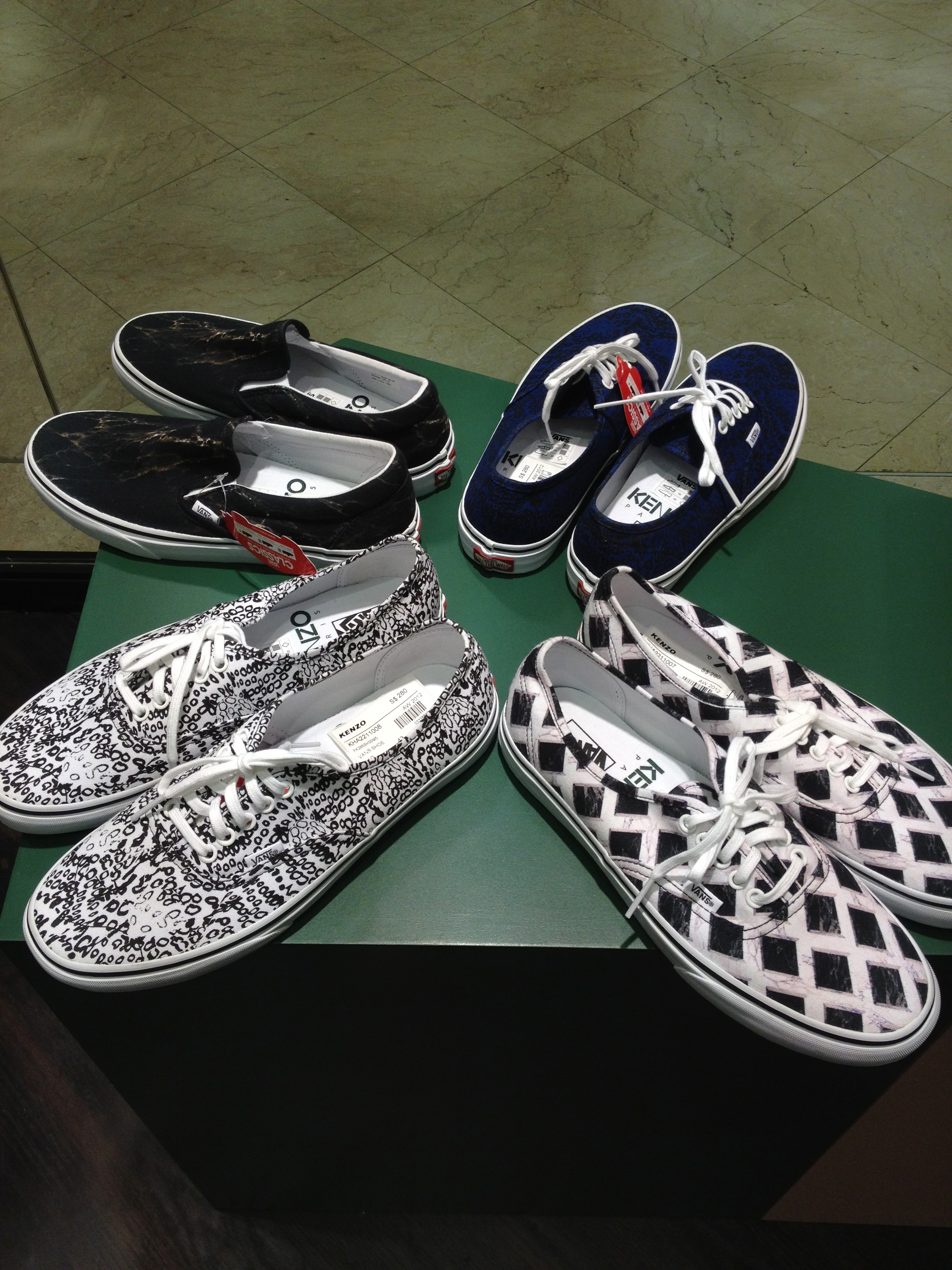 Vans by Kenzo Collection Men's Shoes