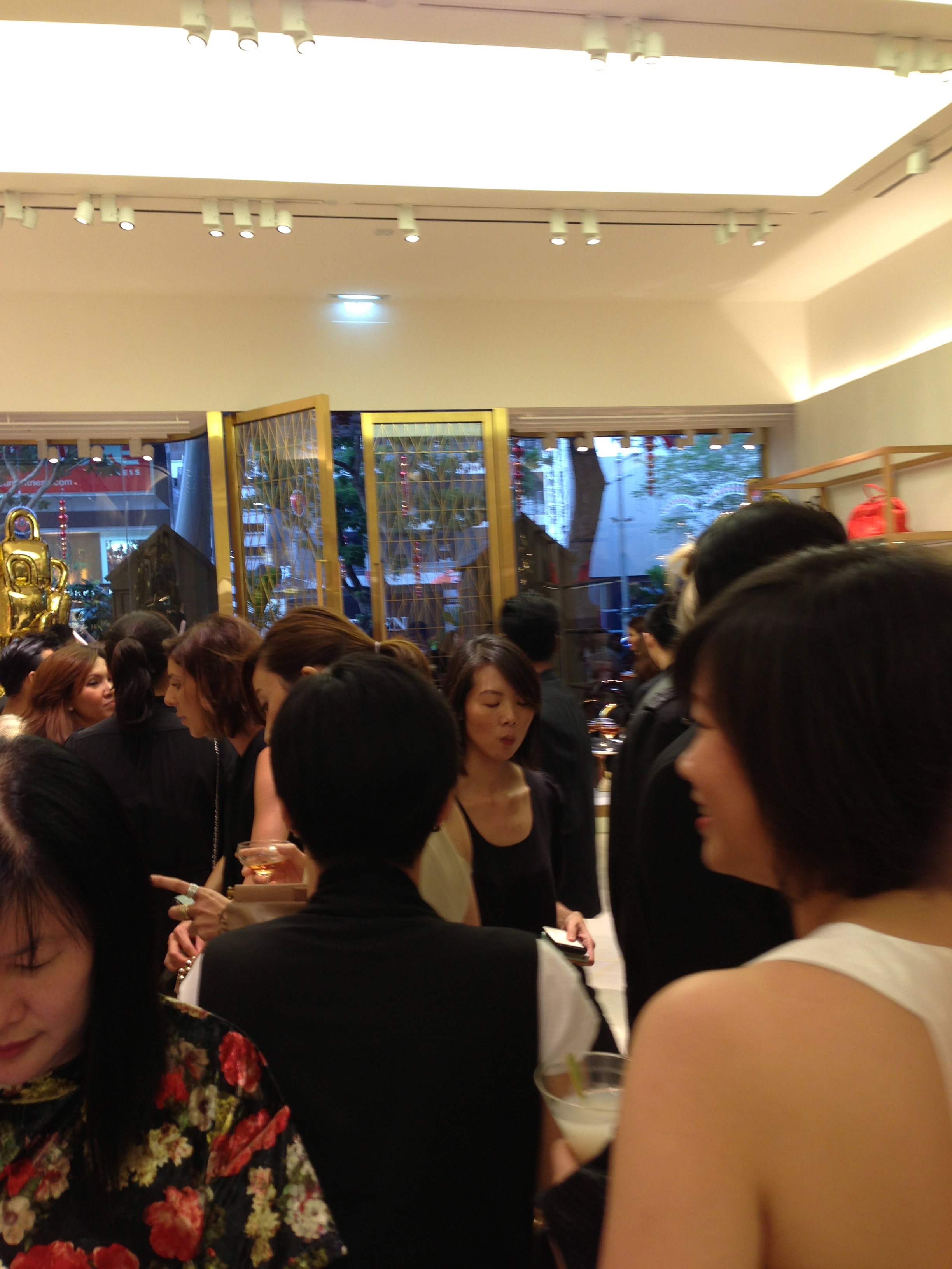 Mulberry Singapore Flagship Store Opening Event