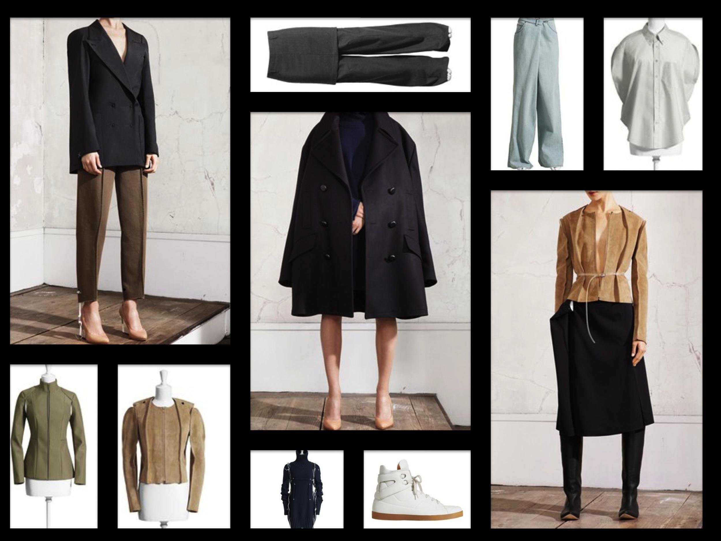 Margiela for H&M Fave Ladies Pieces