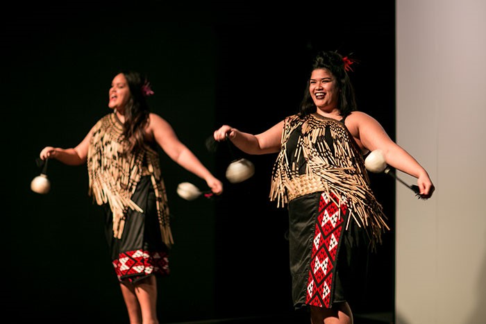 Maori performance at the Auckland Museum