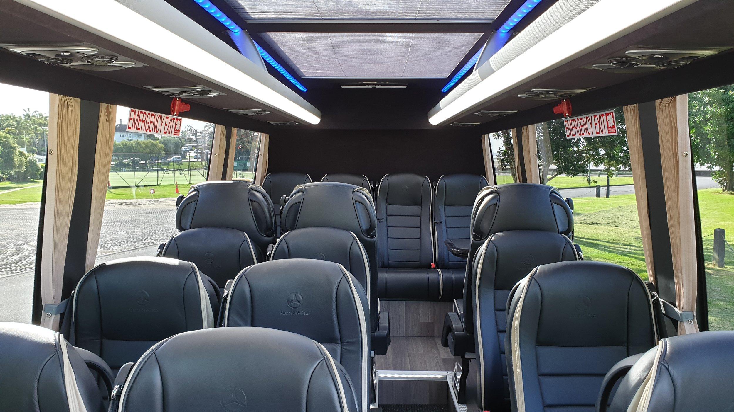 First Class 16-Passenger Mercedes Minibus