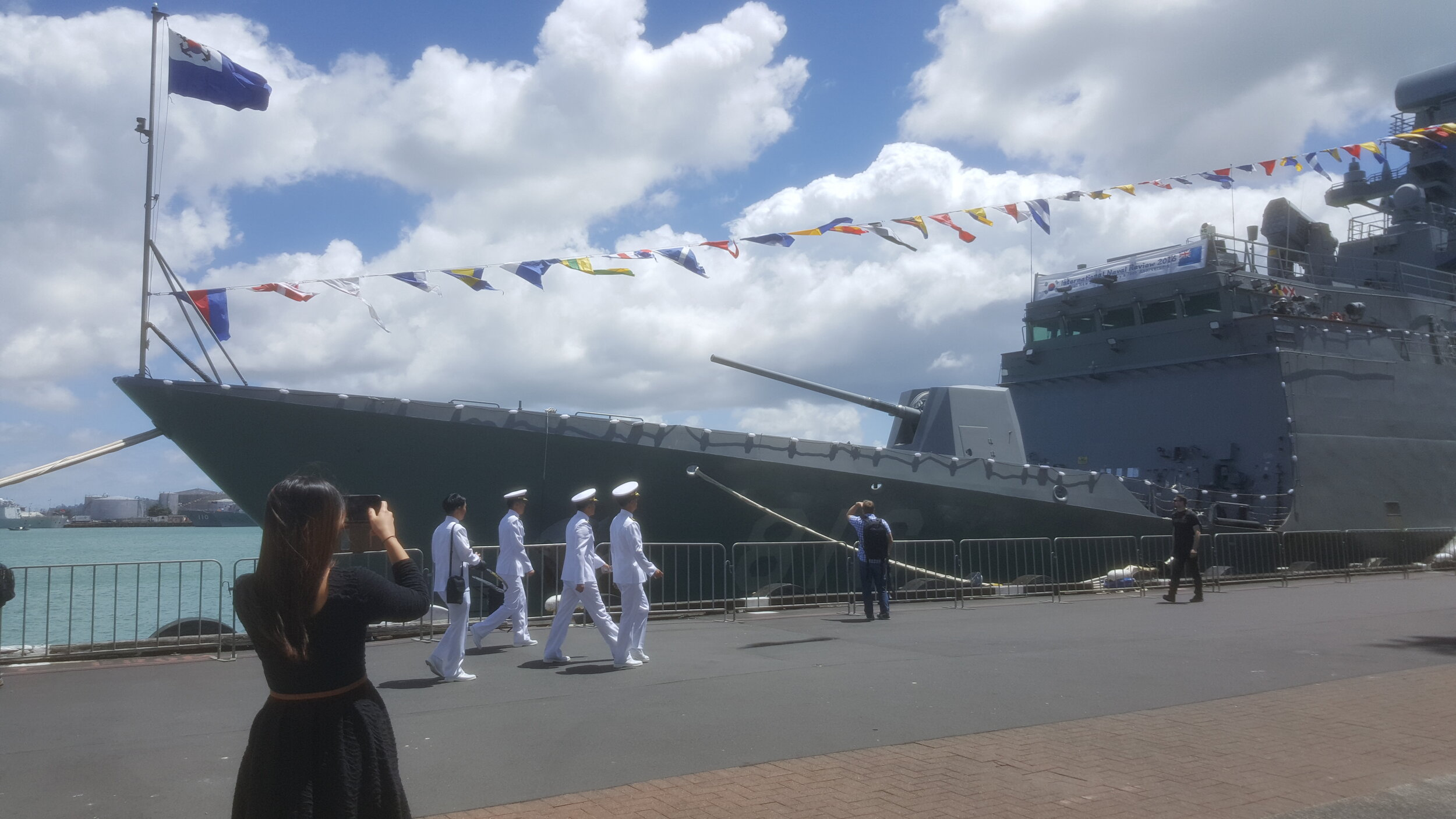 NZ Navy 75th Anniversary | Ground Transport