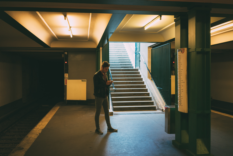 First Berlin Metro station