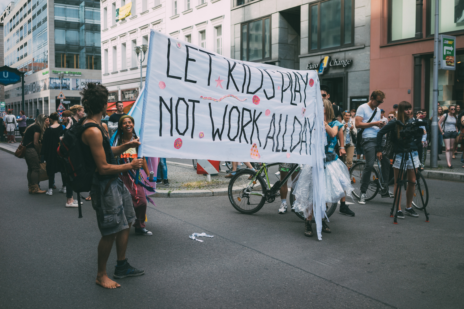 Let Kids Play Not Work All Day