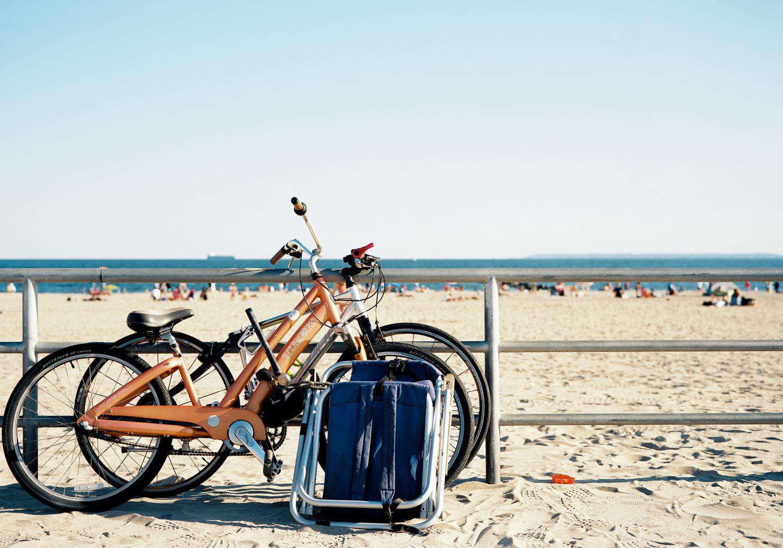 You can ride my bicycle. Ektar 100  Fuji GW690III.