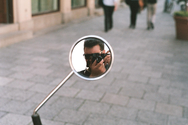 Reflection. Leica M6 TTL w/ 50mm Cron Version III.