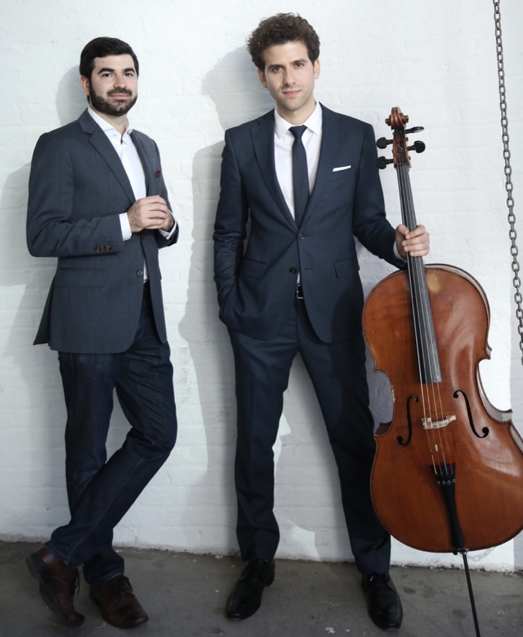 CanellakisBrown_Duo_-standing+with+cello-Outdoor.jpg